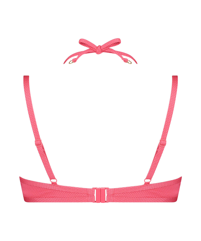 Haut de bikini à armatures préformé Ruffle Dreams, Rose, main