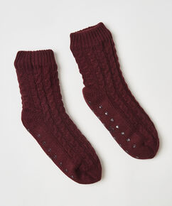 Chaussons Knit, Rouge