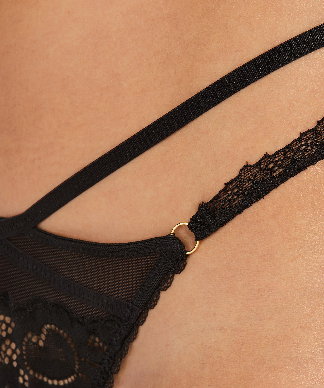 String Keira, Noir, main