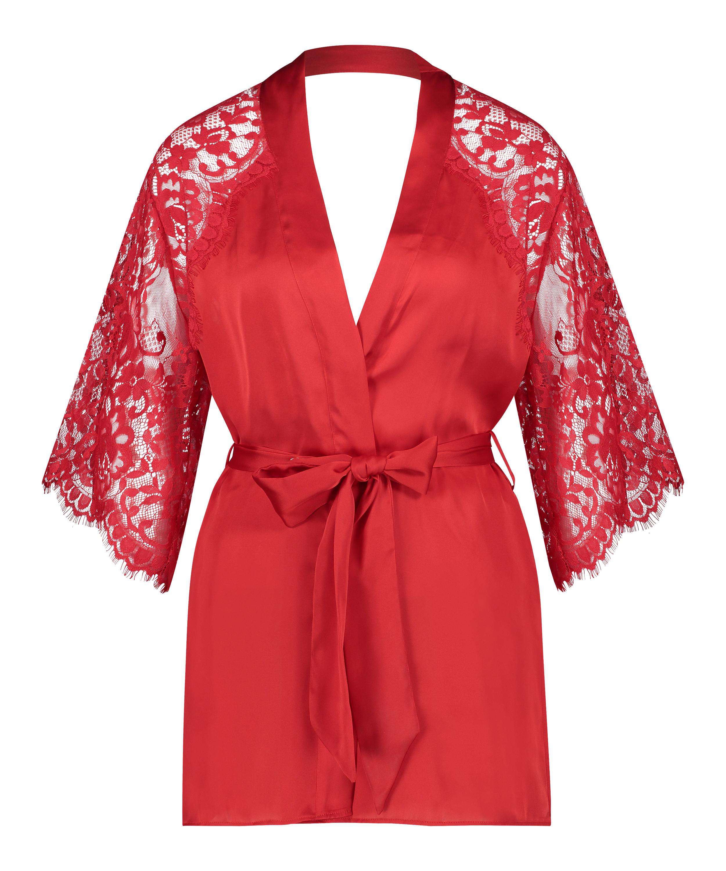 Kimono Jennifer, Rouge, main