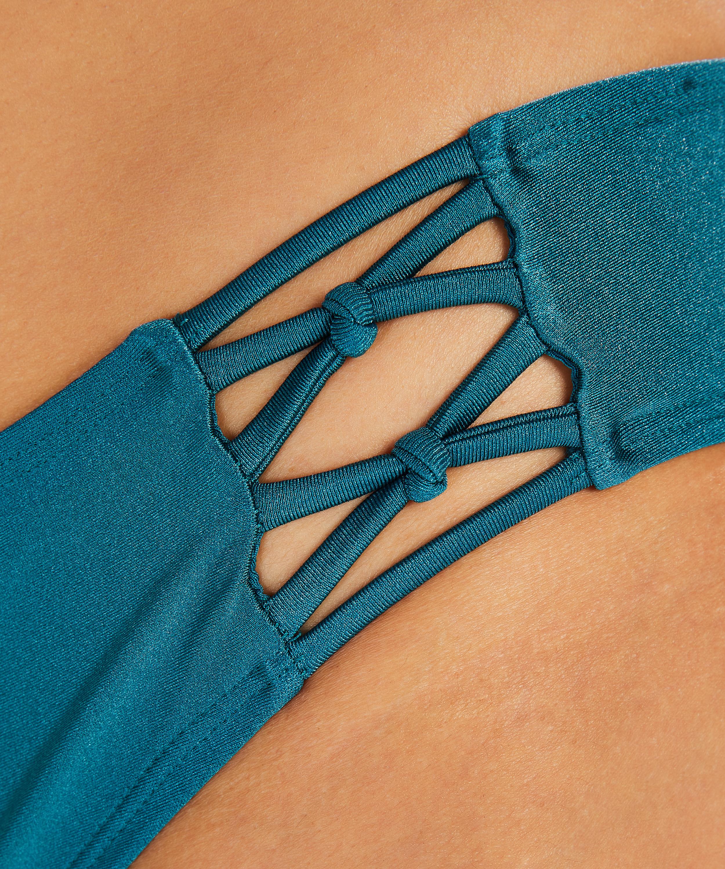 Slip de bikini Rio Macrame Brokopondo I AM Danielle, Gris, main