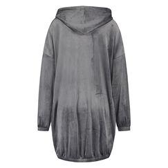 Peignoir Velours Dress, Gris