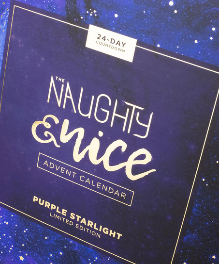 Private Naughty & Nice Advent calendar, Violet