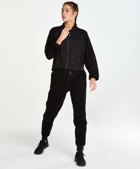 Veste HKMX Léopard , Noir