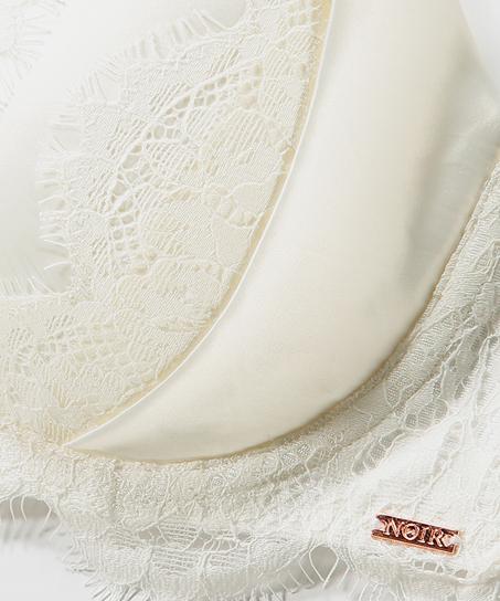 Soutien-gorge rembourré à armatures Hannako, Blanc