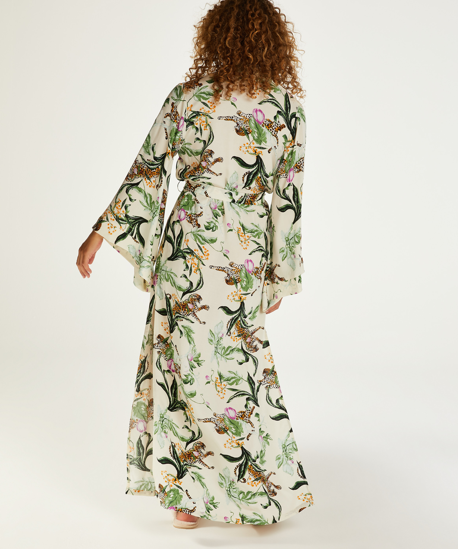 Kimono long Leo, Rose, main