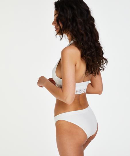 Brassière sans couture Shiloh, Blanc