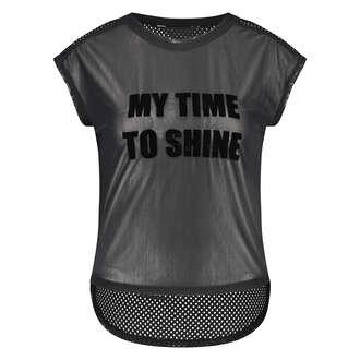 Top de sport HKMX Time to shine, Noir