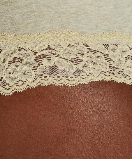 Boxer string Coton, Vert