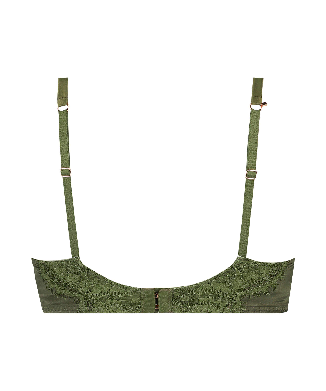 Soutien-gorge rembourré à armatures Hannako, Vert, main