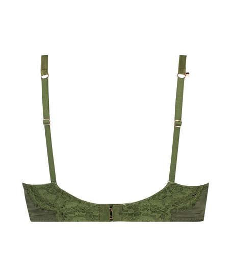 Soutien-gorge rembourré à armatures Hannako, Vert