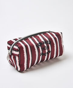 Trousse de maquillage Satin, Rouge
